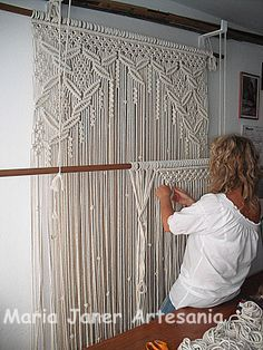 wow! maria janer: Entre nudos...call me stuck in the 70s but I STILL love macrame