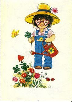 a postcard, printed in W.Germany, L 383.