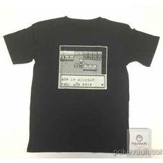 Pokemon Center 2016 20th Anniversary Game Dot Campaign Tshirt  Version #7 (Free Size)