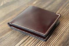 Change wallet Leather coin wallet Husband gift Leather by ZebStamp
