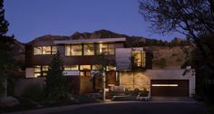 Syncline House between Rocky Mountain foothills and the Great Plains by Arch11