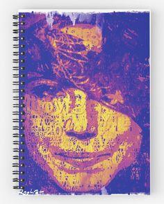 #MurielCerf #Note #Book #Purple #unisex #roman #RootCat do it yourself