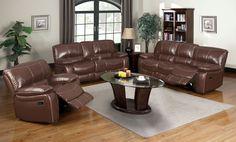 Reclining Sofa And Love Seat Set CM6819