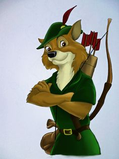 Robin Hood....my very first crush and I still compare men to him.  LOL