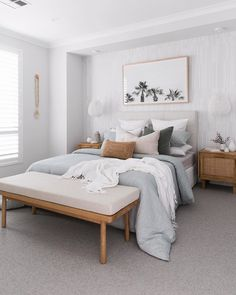 Room Ideas Bedroom, Home Bedroom, Master Bedroom, Bedroom Decor, Scandi Bedroom, Bedroom Signs, Bedroom Inspo, Modern Bedroom, Design Home Plans