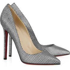 shoes+ Christian Louboutin+high heels -> Polka-Dot Pumps = LOVE. I love Maths