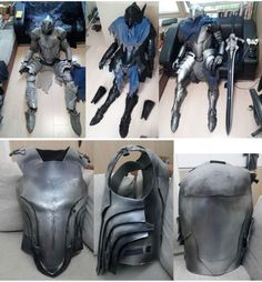 Nailing the perfect cosplay of your favorite character can be tough. But this handy guide will teach you how to build armor that looks just like what Artorias of the Abyss wears in Dark Souls. Cosplay Wings, Cosplay Armor, Dark Souls Armor, Cool Costumes, Halloween Costumes, Foam Armor, Cosplay Tutorial, Medieval Costume, Superhero Design