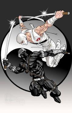 Storm Shadow vs Snake Eyes