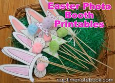 naptimenotebook FREE easter booth printable