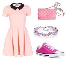 Untitled #6 by dreamlooks on Polyvore featuring polyvore, fashion, style, Converse, Chanel and clothing