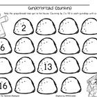 Gingerbread Counting (FREEBIE)