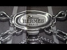 How-to wear scarves - Hermes scarf in a weave knot - YouTube