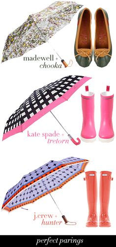 College Prep: April Showers | Perfect Pairings