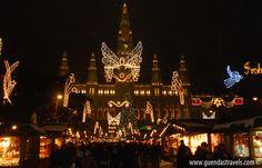 WIENER CHRISTKINDLMARKT Vienna, Travel, Viajes, Destinations, Traveling, Trips