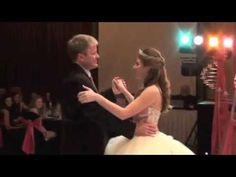 Lauren Elizabeth Quinceañera - Part 2 - Changing of Shoes/Father Daughter Dance - YouTube