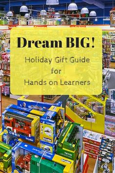 This holiday gift guide is curated for hands on learners. Find the perfect Christmas gift for busy kids they will be sure to love!