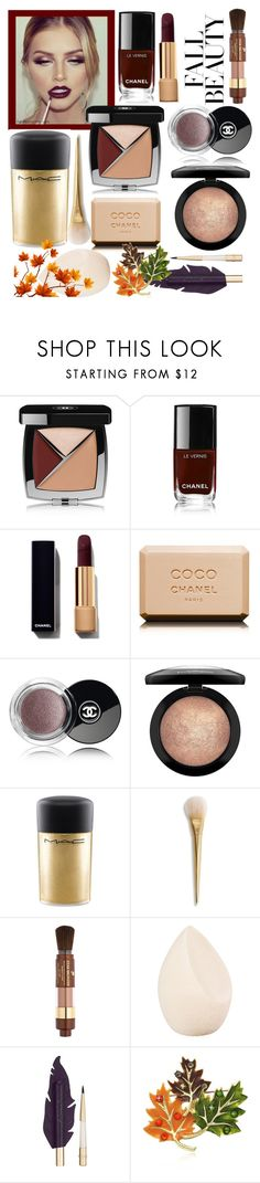 """Unbenannt #890"" by babett-beattie ❤ liked on Polyvore featuring beauty, Chanel, MAC Cosmetics, Lancôme and Christian Dior"