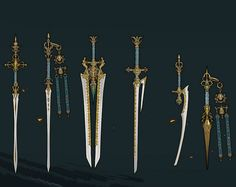 Gedonelune Royal Family's Sword Set