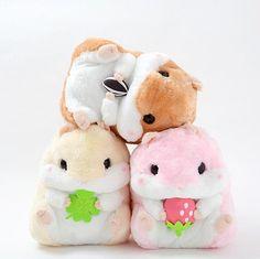 (5) Coroham Coron no Daikobutsu Plushies (Big) | Plushies, Hamsters and Kawaii