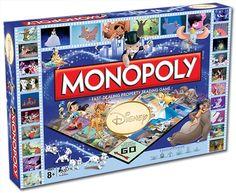 Disney Monopoly Games, Merchandise | Sanity