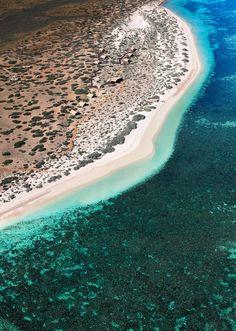 Beach Camping in Australia, in the Cape Range National Park, Sal Salis