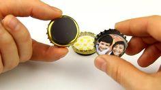 Magnet-Anwendungen - Kronkorken mit Magnetfolie - supermagnete.ch