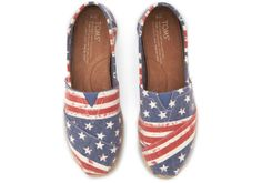 Exclusive to #TOMS.com - Ge them in time for Memorial Day!