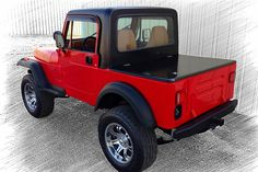 1993 JEEP WRANGLER CUSTOM SUV - Rear 3/4 - 154244