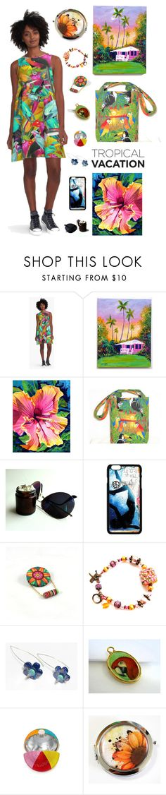 """(Tropical) Birds & Blooms"" by kateduvall ❤ liked on Polyvore featuring beauty"