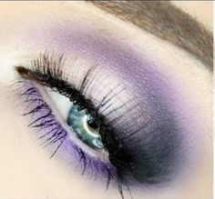 Electric Purple Smokey Eyes (Good For Hooded Eyes)
