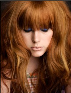 Choosing Your Color Shade: Redheads: Take a quiz and determine which red tone suits you best!