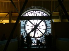 This clock is a clock in the Paris train station where Hugo lives. He spends each day repairing and turning them, keeping them running. He is also able to peer through the numbers in the clock in the wall where he lives, giving him a bird's-eye-view of life moving below in the station.
