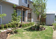 施工例89 Garden Design, House Design, Garden Yard Ideas, Entrance, Diy And Crafts, House Plans, Pergola, Arch, Sweet Home