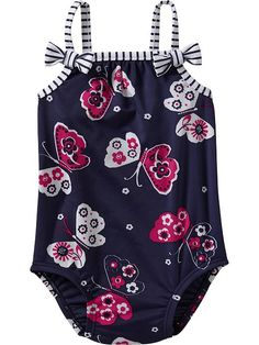 Butterfly-print Bow-tie Swimsuits For Baby Twin Baby Girls, Baby Girl Toys, Baby Girl Cards, Baby Baby, Baby Room Pictures, Baby Girl Photos, Baby Girl Swimsuit, Baby Girl Romper, Cute Outfits For Kids