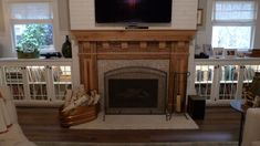 Great Photo Fireplace Shelves wallpaper Tips Today is a little reunion of sorts … – Farmhouse Fireplace Mantels