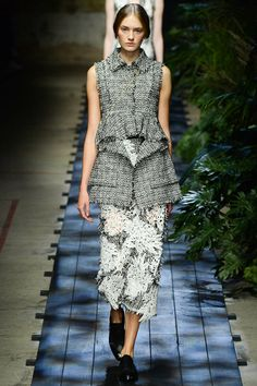 Olivia Palermo's #LFW Pin Picks: Earthy and dark for Erdem SS '15