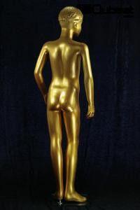 #gold #Schaufensterpuppe #Mannequin #Kind #Kinder #Junge #männlich