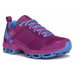 On Cloudsurfer 2015 - Womens Performance Running Shoes - Fuchsia Azure 422c7eb7ddb67