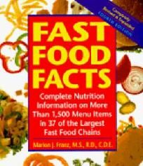 Fast Food Facts Fast Food Facts, Complete Nutrition, Fast Food Chains, Menu Items, Nutrition Information, Book, Book Illustrations, Books