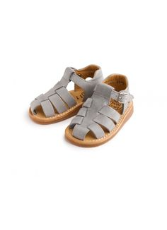 Yapo Sandal / Grey - BOY - Products : Fawn Shoppe - Global Boutique For Unique Children's Designs