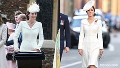 Kate Middleton Rewears Gorgeous White Coat From Baby Charlotte's ...