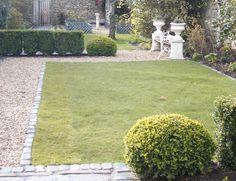 Gravel path with cobble edge  Sarah Jordan Gardens