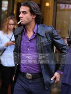 "Huge Man Crush..Bobby Cannavale...Series, ""Vinyl"" Men's Leather Jacket, Leather Jackets, Bobby Cannavale, Jackets Online, Man Crush, Vintage Fashion, Vintage Style, Movie Stars, Casual Wear"