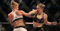 Ronda chegou badalada para sua sétima defesa de cinturão no UFC