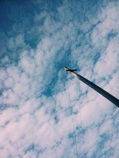 Cloudy sky | Romania | @vsco