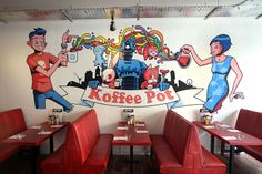 Koffee Pot. Re-opened on Oldham Street, The Northern Quarter