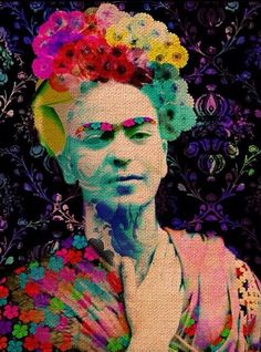 Pin by Debby ♥ on Frida Kahlo Diego Rivera, Frida E Diego, Frida Art, Mexican Artists, Cool Sketches, Psychedelic Art, Amazing Art, Amazing Women, Art Photography