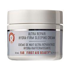Ultra Repair Hydra-Firm Sleeping Cream - First Aid Beauty | Sephora