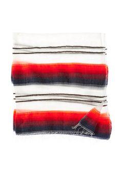 square striped scarf handmade in ethiopia