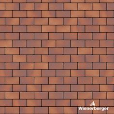 """Ready to use texture of the Wienerberger clay paver """"Klinkersillutustellis Oderland Buchwäldchen"""" layed in the running bond. Get yours on our Estonian website. Clay Pavers, Brick Tiles, Pavement, Bond, Texture, Running, Website, Beautiful, Surface Finish"""